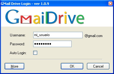 Gmail Disco Duro
